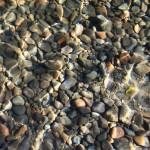 el agua cristalino del Lago Puelo