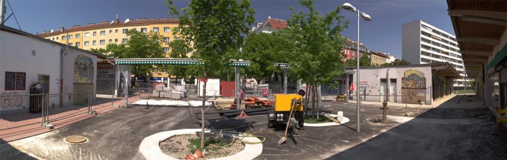 Im Juli startet ein Kunstprojekt am Vorgartenmarkt im 2ten Bezirk...