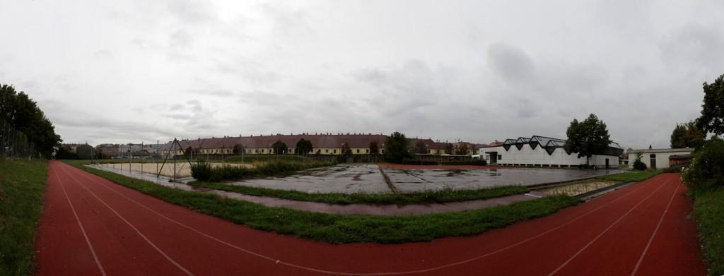 das union sportzentrum bei schönbrunn, dessen tage gezählt sind